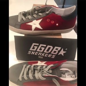 NEW Velvet & Nubuck Golden Goose Superstar Sneaker